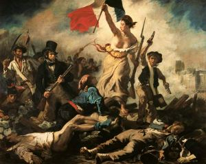Delacroix Liberty at the Barricades