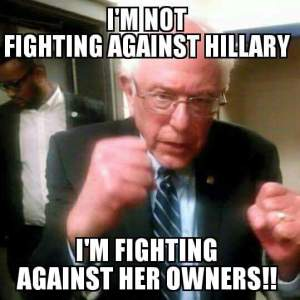 Fighting Bernie