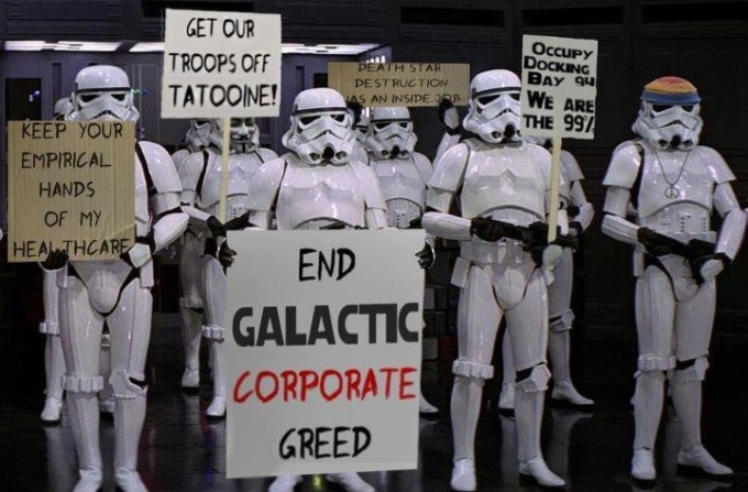 Occupy Deathstar