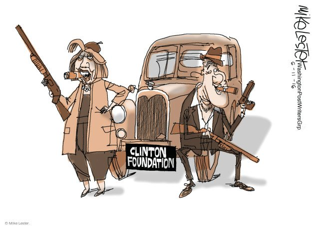 BILL & HILL MAKE BONNIE & CLYDE LOOK LIKE PENNYANTE CROOKS